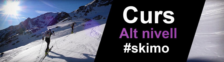 Curs d'esquí de muntanya de competició