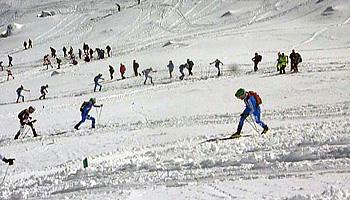 Formació i entrenaments en esquí de muntanya de competició