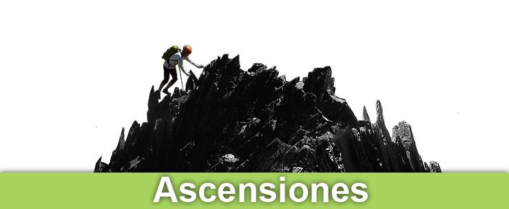 Montaña, escalada, alpinismo, excursiones, trekkings, cursos